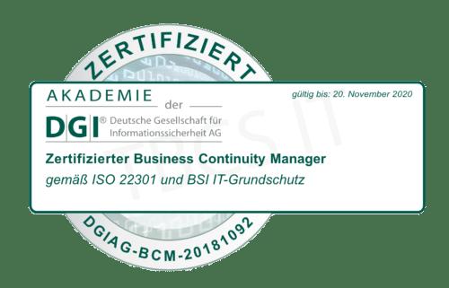 datenschutz goslar it-sicherheitsbeauftragter torben bues dsgvo business continuity manager